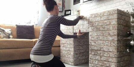 Как сделать декоративный камин своими руками